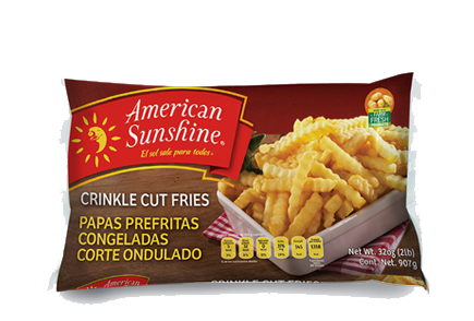 Crinkle Cut Fries